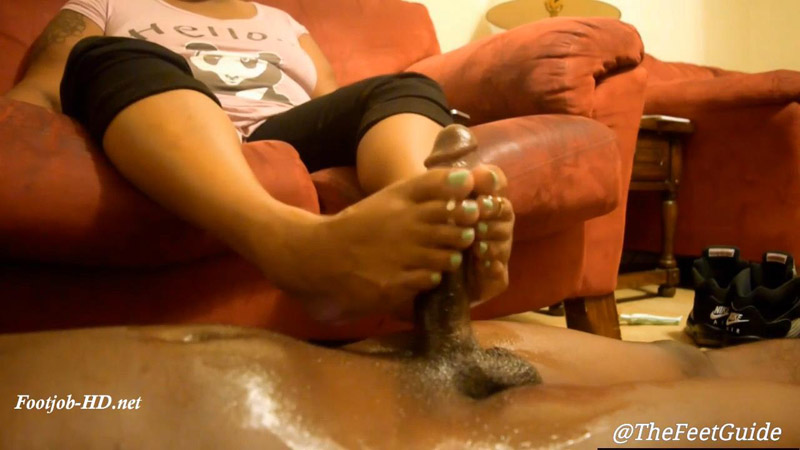 Via's First Footjob – TheFeetGuideTV