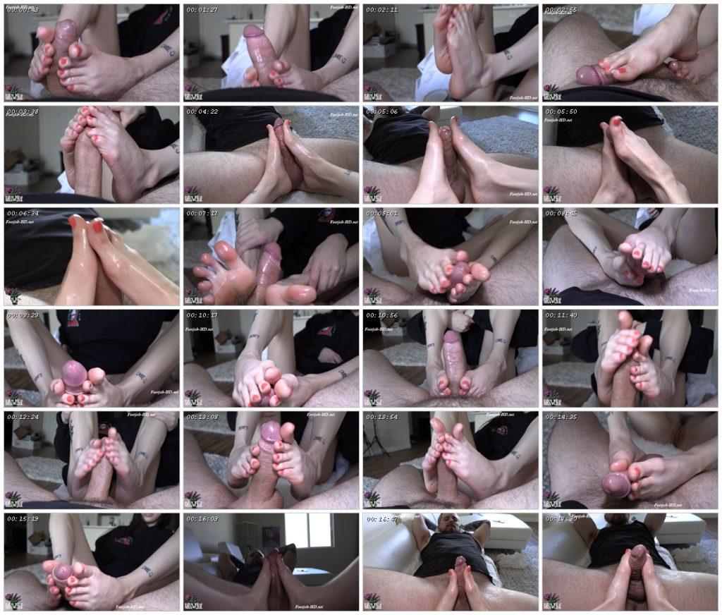Cum On My Toes – HarloweBlue_scrlist