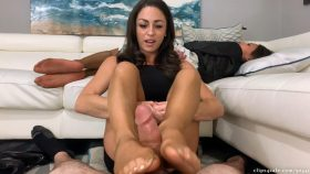 Dinner Party Footjob Sleepy Wife Unaware – Bratty Babes Own You – Cleo, Ari Parker