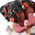 Housewife Gives A Coloured Nylon Footjob – Cassie Clarke