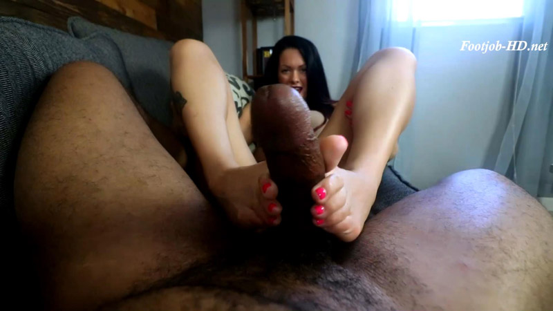 Maria Marley Wakes Me With a Footjob - Joey's FeetGirls