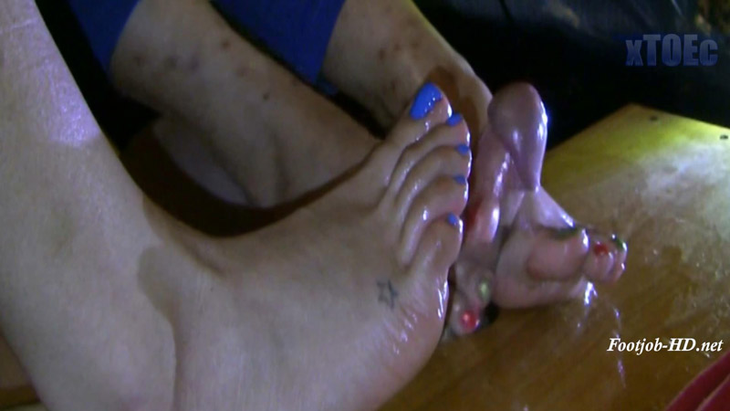 Bare Footjob Duos 16-C1 – xTOEc Foot Fetish and Footjobs