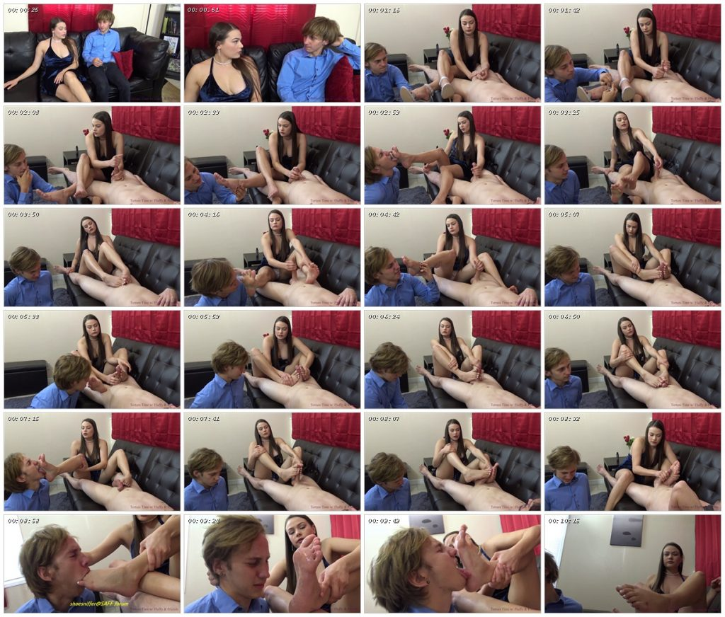 My Husband Is A Cuck To My Feet (Custom Clip) Hot Clip with a HUGE Cumshot - Featuring Princess Ivory Soles - Torture Time_scrlist