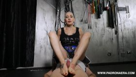 Sports Footjob For The Loser – Padrona Era