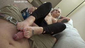 Nyla's Training Footjob – GG Fetish Media