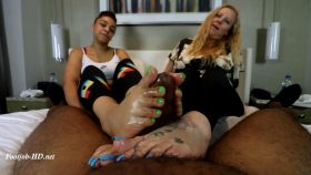 Rhonda and Turkish Soles Tag Team – Joey's FeetGirls