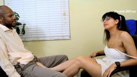 Kitty Catherine in Cum in Pants at Job Interview – Funhouse Clips