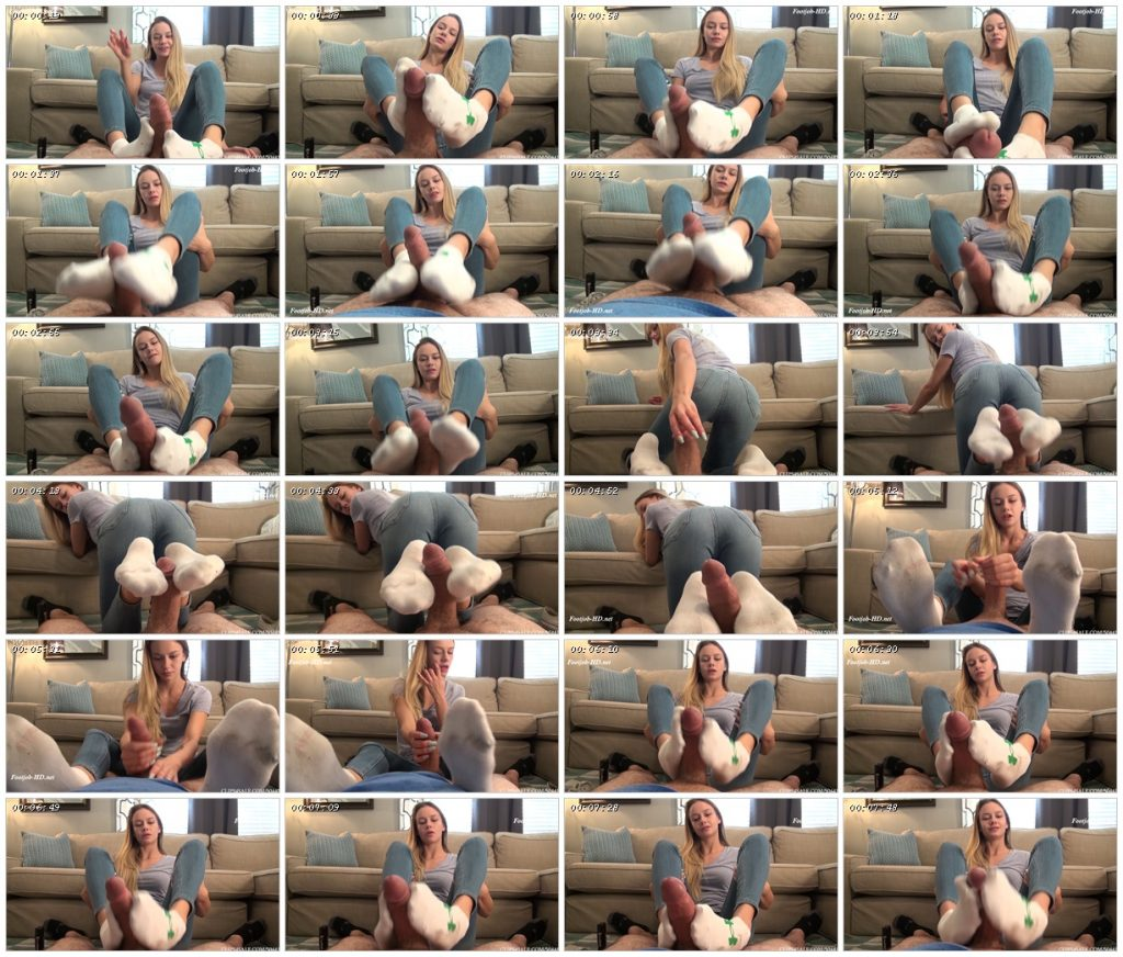 Bratty Sister Naomi loves To Give Humiliating Footjobs - Bratty Babes Own You - Naomi Swann_scrlist