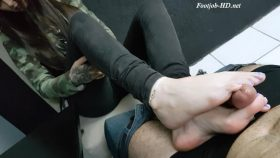 Delicious Toes With Purple – Emily Foxx