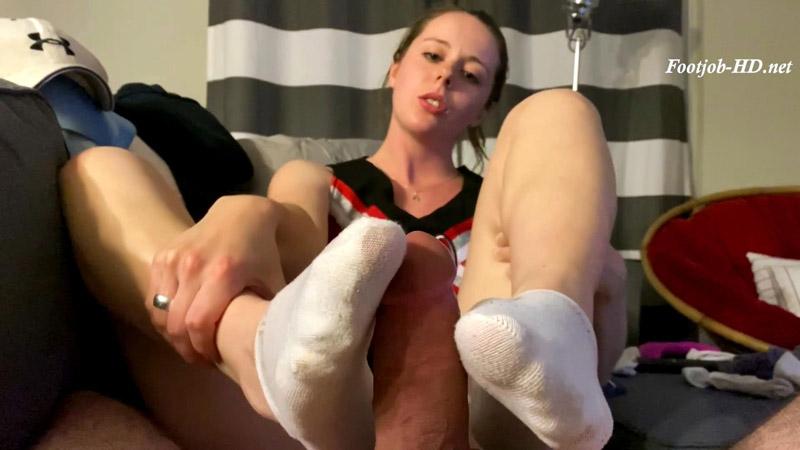Cheerleader Footsies – Nadia Foxx