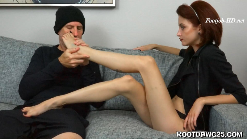 Lola Fae in Hotel Room Footjob – Foot Fetish by Rootdawg25