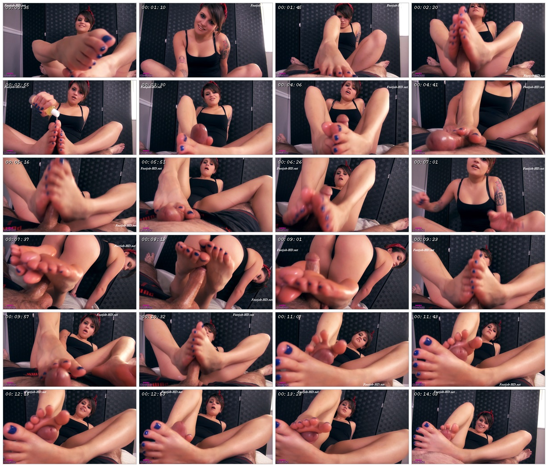 Luring In My Best Friend's Boyfriend With Silky Soles On His Cock - Raquels Fellatio Fantasies_scrlist