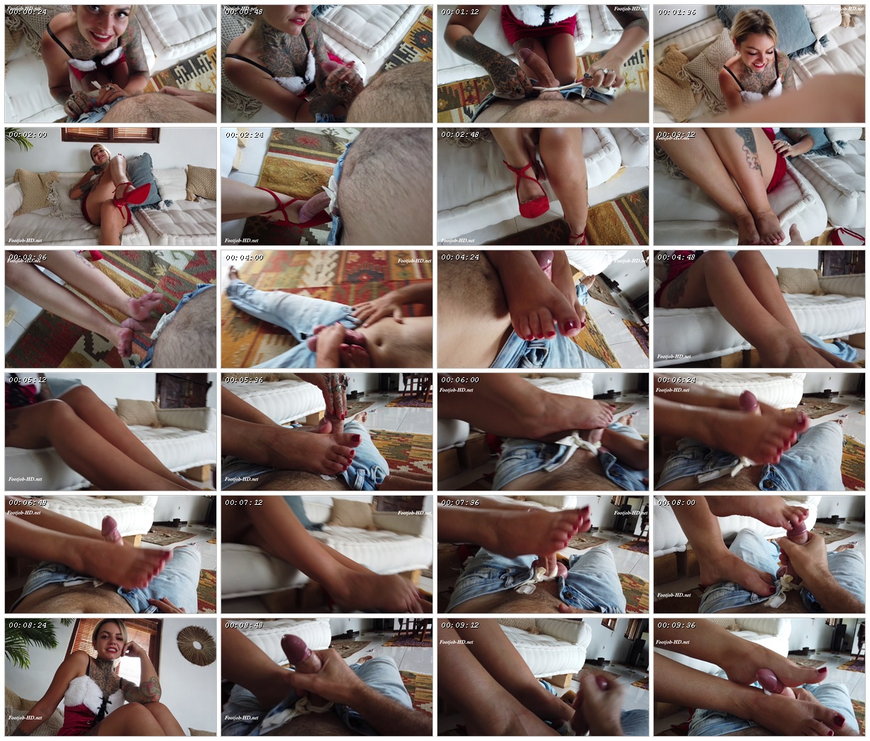 POV Foot Fetish with Mr & Mrs French - Maitresse Nikky French_scrlist