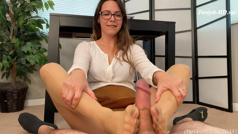 Caught Staring At Sisters Feet while doing home work - Bratty Babes Own You