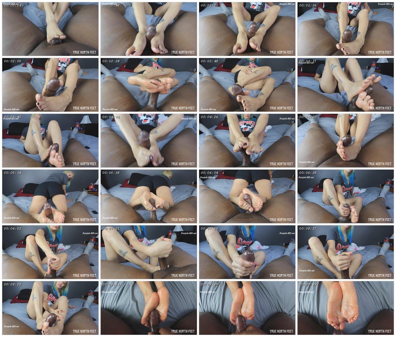 Soft Soles Footjob w Angelica - TrueNorthFeet_scrlist