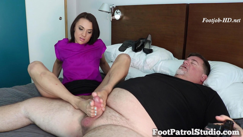 Soft Feet on Hard Meat with Maria Jade - Pedi Police