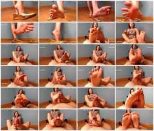Ballet Flats Foot Job - Natalies Socks_scrlist