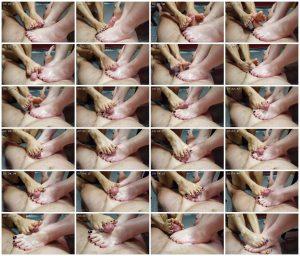 POV Double Girl Footjob With Cumshot – AmaraZane_scrlist