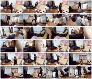 Goddess Kao's Foot Session - Domme Dynasty_scrlist