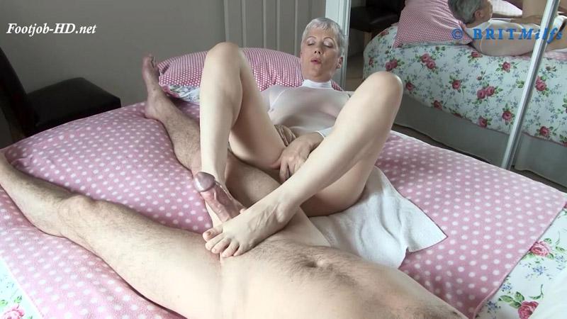 Monster White Cock - BritMilfs - Granny Fleur