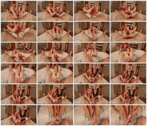 POV Threesome Foot worship and FootJob - Lora Cross_scrlist