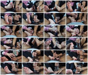 Double Footjobs With Sachi On My BF – Yourfeetsweetiee_scrlist