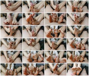 Footjob with happy end – Sexy-Lena_scrlist