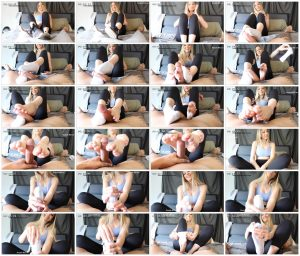 Sock Footjob – Mandy Madison_scrlist